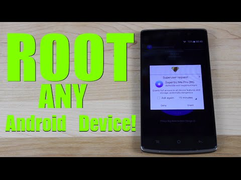 ROOT Any Android Device ONE Click! No PC 6.0.1, 5.1.1, 5.0, 4.4, 4.3 Marshmallow, Lollipop