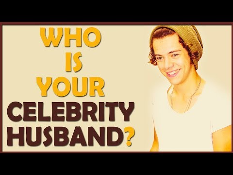 Who is your Celebrity husband? (Personality Test)
