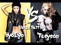 Hyolyn (SISTAR) VS Taeyeon (SNSD) - Vocal Battle (C5 - F#5 )