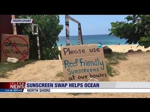 ABC Island News Features TropicSport Sunscreen Swap Event on International Surfing Day