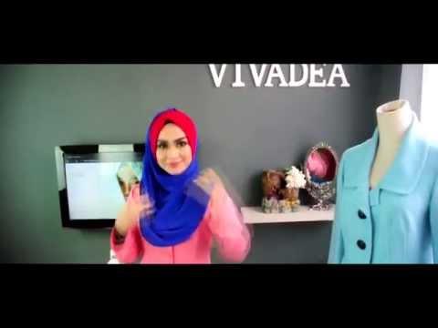 TUTORIAL 15 saat Instant Shawl Dhia Vivadea
