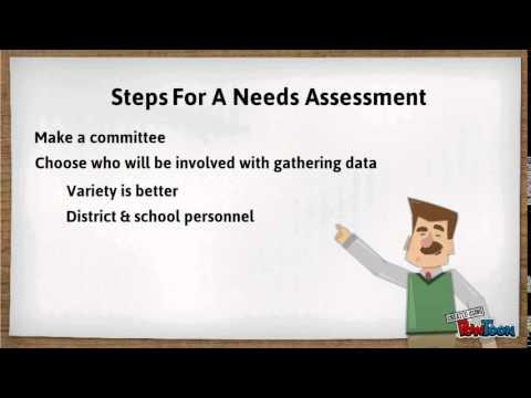 ESL 501 - Needs Assessment