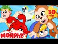 Morphle39s Monkey Madness Jungle Train Mila And Morphle Cartoons For Kids Morphle TV