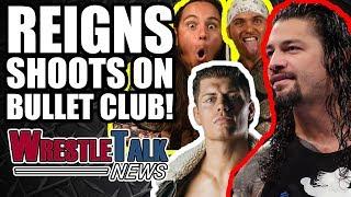 Roman Reigns SHOOTS On Bullet Club WWE Raw Invasion?!   WrestleTalk News Oct. 2017