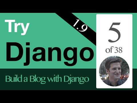 Try Django 1.9  - 5 of 38 - Superuser & Admin