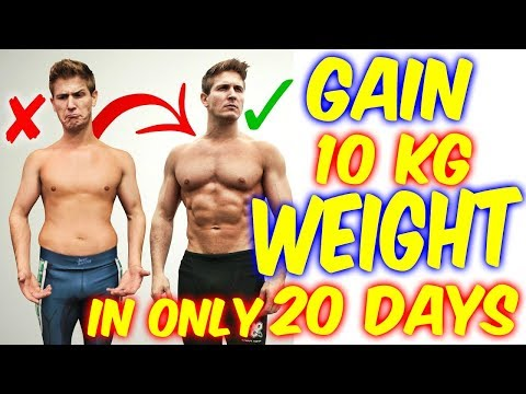 HOW TO GAIN WEIGHT FASTER IN 20 DAYS (Men & Women) Naturally | Full Diet Plan | HEALTH AND FITNESS