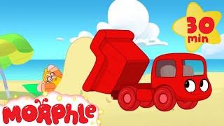 My Magic Dump Truck -- Dump Truck Video For Kids with My Magic Pet Morphle