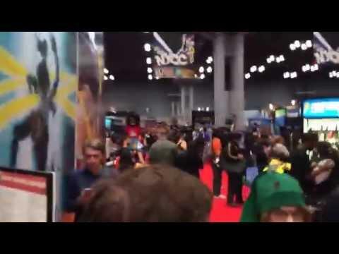 COMIC CON 2014 NYC