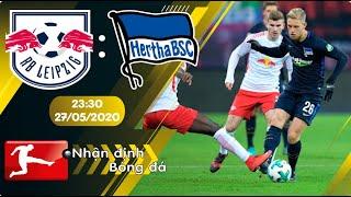 Nhận định, soi kèo RB Leipzig vs Hertha Berlin 23h30 ngày 27/05 - vòng 28 - Bundesliga 2019/2020