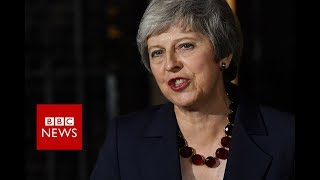 Theresa May: Cabinet has backed draft Brexit plan - BBC News