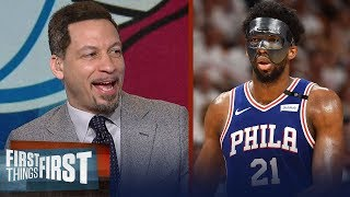 Chris Broussard on why the 76ers could dethrone Cavs to win East in 2018 | FIRST THINGS FIRST