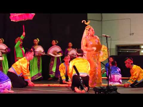 The Leyte or Bamboo Folk Dance at Carassauga by Phillipines Group