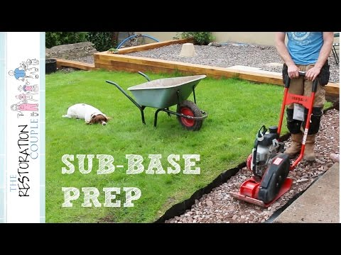 Preparation for a Patio or Path | Digging out and Sub-Base