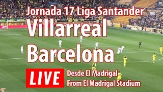 Villarreal vs Barcelona en vivo
