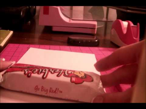 Quick and Easy Candy Bar wrapper