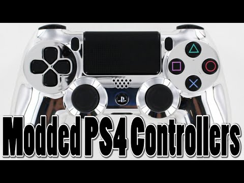 Top 5 Modded PS4 Controllers (Modded PS4 Consoles)