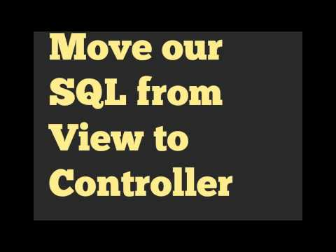 Databases & Rails: Wk 5 Putting Database Logic in Controllers