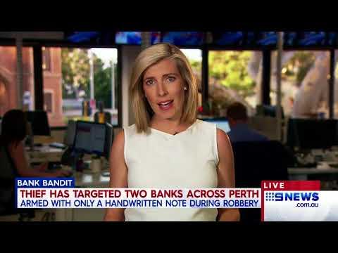 Bank Robber | 9 News Perth