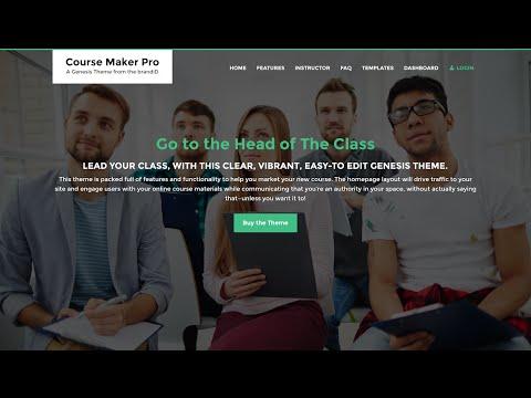 Course Maker Pro Theme by BrandID