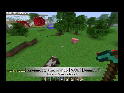 Minecraft  How to SPAWN Mobs on SERVER [BUKKIT]
