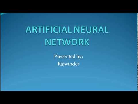What is Artificial Neural Networks?