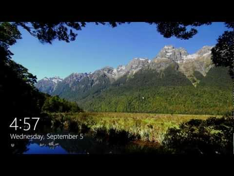 How to Change the Lock Screen Background in Windows 8