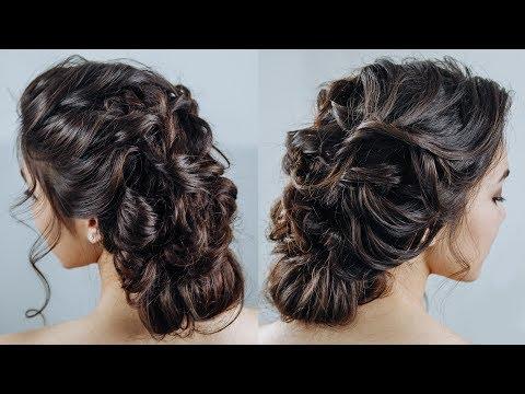 Messy french braid updo\ Romantic boho braided hairstyle