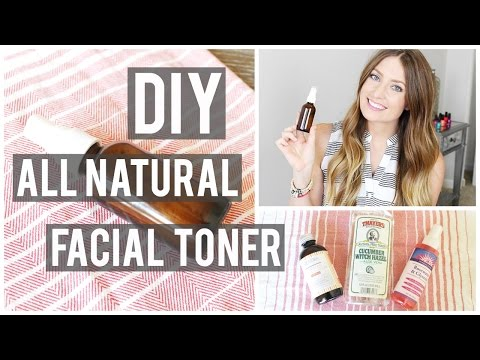 DIY:  All Natural Rose + Witch Hazel Facial Toner | Kendra Atkins