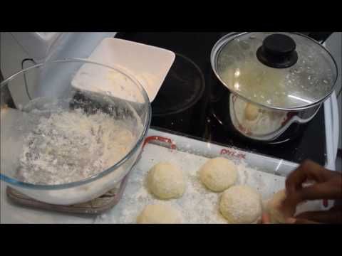 How to | African Traditional Dumplings| Madombi