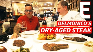 dry and wet aged steaks at new yorks most famous steakhouse the meat show