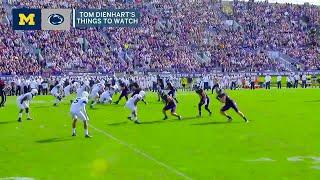 Week 8 Football Previews: Michigan at Penn State