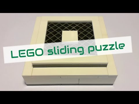LEGO sliding puzzle