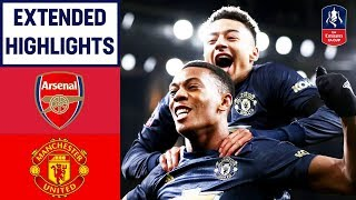 Clinical United Too Strong for the Gunners | Arsenal 1-3 Manchester United | Emirates FA Cup 2018/19