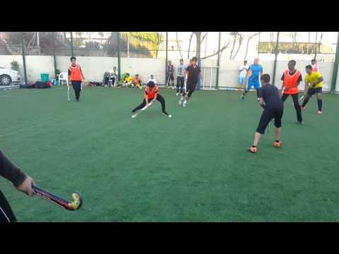 Dubai hockey team match with bakistani club
