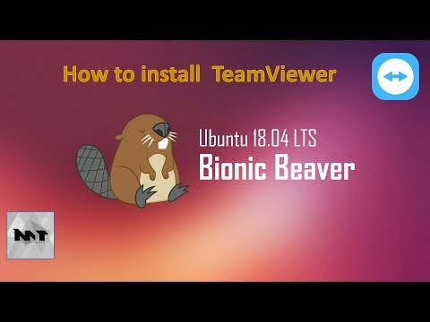 How to install TeamViewer on Ubuntu 18.04