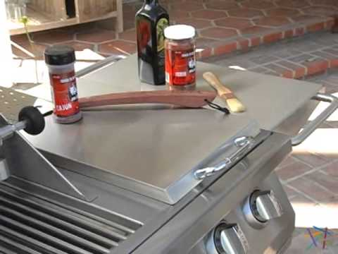 Bull 7 Burner Premium BBQ Gas Grill with Cart - Product Review Video