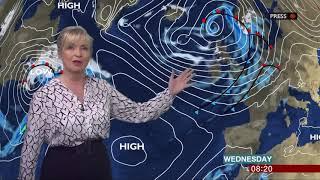 Maja D Foster of Mazak on BBC Breakfast 10/4/18