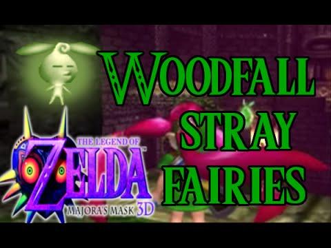 Legend of Zelda: Majora's Mask 3D Woodfall Stray Fairies