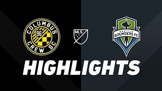 Columbus Crew SC vs. Seattle Sounders | HIGHLIGHTS - July 6, 2019