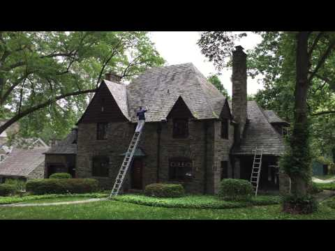 Slate Roof Cleaning and Roof Algae Removal Lancaster PA