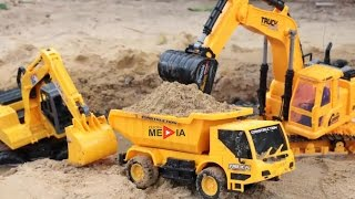 Excavators for Children and Truck for Children with 1 Hour Long   Videos for kids
