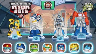 Transformers Rescue Bots: Disaster Dash Hero Run | Assemble All The Rescue Bots! By Budge