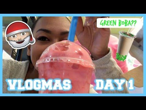 Getting Boba + How I Cook Dinner⎮Vlogmas Day 1