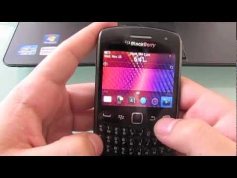 How to unlock Blackberry Curve 9360