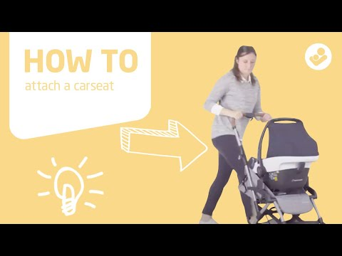 Maxi-Cosi | Laika stroller | How to attach a carseat