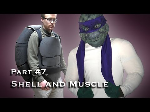 Making a Teenage Mutant Ninja Turtle Costume - Cosplay - Part 007