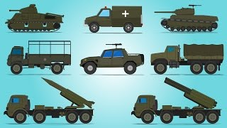 Army Vehicles   Street Vehicles   Cars For Kids