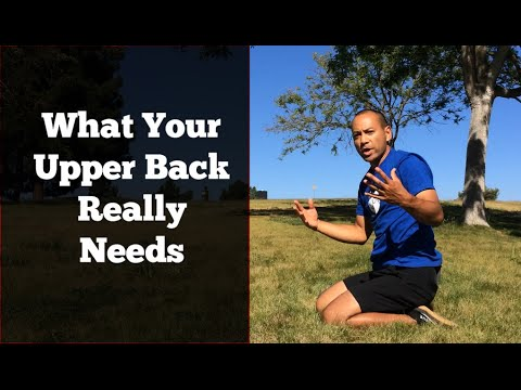 Thoracic Spine Mobility - Upper Back Extension & Rotation