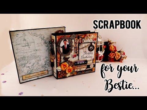Scrapbook for your Bestie Birthday.. || Mini Album || DIY || 2017