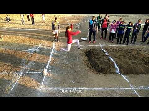 Girls College  Long Jump in Dellhi.